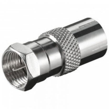 F-connector to coax jack 9,5mm