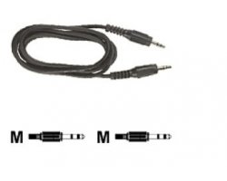 Audio mini jack kabel 20,0m, M