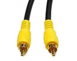 Video/DVD kabel 2,0 Meter, (Ph