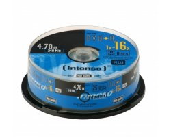 Intenso DVD+R 4,7GB, 16x 25-pa