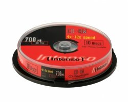 Intenso CD-RW 700MB 80min 12x