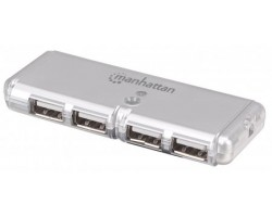 MANHATTAN USB Hub, Hi-Speed US