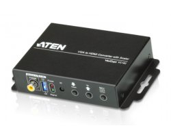 Aten VGA to HDMI Converter wit