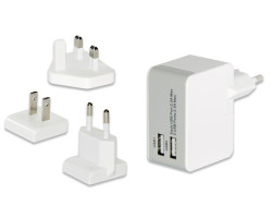 Ednet USB Universal Travel Cha