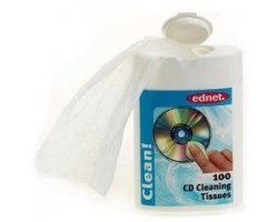 Ednet Cleaning Tissues, 100 cl