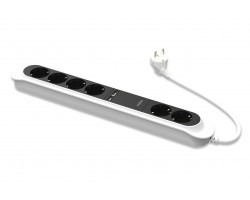 Ednet 6-way Power Strip with 2