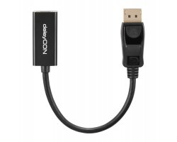 deleyCON DP to HDMI Adapter -