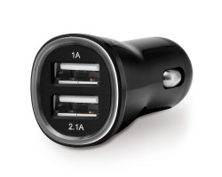 deleyCON USB Car Charger - 2 P