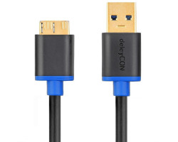 deleyCON USB 3.0 Cable - A/Mic