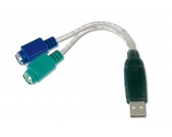 USB Adaptor,(A han: 2 x PS/2 h