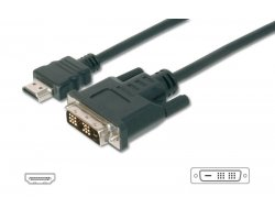 HDMI kabel sort 1,0m