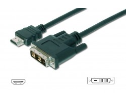 HDMI kabel sort 5,0m