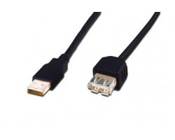 USB kabel 1,8m, USB 2.0, Basic