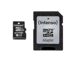 Intenso 16 GB Micro SD UHS-I